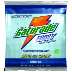Gatorade - 308-33676 - Glacier Freeze Powder Sports Drink Mix, Package Size: 51 oz., Yield: 6 gal., 1 EA