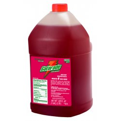 Gatorade - 33977 - Fruit Punch Liquid Concentrate Sports Drink Mix, Package Size: 1 gal., Yield: 6 gal., 1 EA
