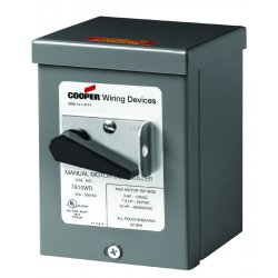 Cooper Wiring Devices - AH7810WD - Ah7810ud W/type 3r Enclosure Gy