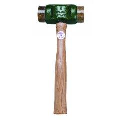 Garland - 41002 - Size 2 Solid-head Rawhide Hammer, Ea
