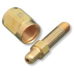 "Western Enterprises - 347-3 - 3"" Nipple Cga 347 To 1/4npt, Ea"