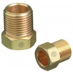 Western Enterprises - AW-14A - Nut Inert Arc Fitting