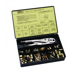 Western Enterprises - CK-26 - Western Hose Repair Kit With 'B' 9/16' - 18 C-5 Crimp Tool (For 1/4' ID Hose), ( Each )