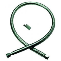 Western Enterprises - F-63 - Western CGA-295 Male X Female Stainless Steel 500 psig 90 Cylinder Fill Hose Assembly