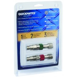Western Enterprises - QDBU10 - We Qdbu10 Torch Set Quick Connects Nickel Plated, Ea