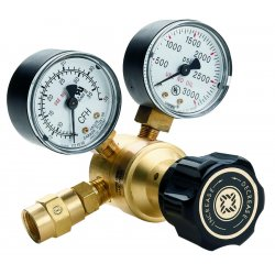 Western Enterprises - REB-4-FG - Western Model REB-4-FG REB Series Carbon Dioxide Flowgauge Regulator, CGA-320