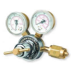 Western Enterprises - RHP-2-4 - Western Model RHP-2-4 RHP Series High Flow High Inlet Pressure Diaphragm Air Regulator, CGA-347