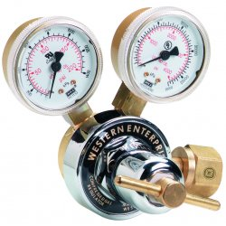 Western Enterprises - RS-7-5 - Western Model RS-7-5 RS Series Medium Duty Inert Gas Single Stage Regulator, CGA-580