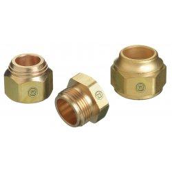 Western Enterprises - TN2-1 - Western 15/16' - 18 Brass Tip Nut, ( Each )