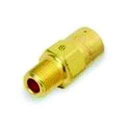 "Western Enterprises - WMV-4-35 - Western 35 psi 1/4"" NPT Male X 1/4"" NPT Female Brass Safety Relief Valve With 1/4"" Orifice"