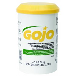Gojo - 0915-06 - 4-1/2lb Hand Cleaner W/pumice Creme-type, Ea