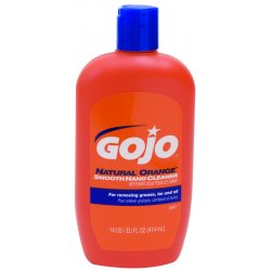 Gojo - 0947-12 - 14-oz. Natural Orange Hand Cleaner Lotion W/na, Btl