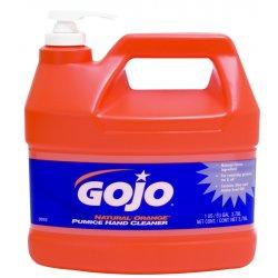 Gojo - 0955-04 - 1-gal W/pump Natural Orange Lotion W/pumice Hand, Btl