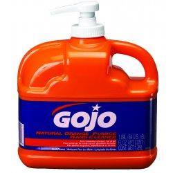 Gojo - 0958-06 - 1/2-gallon Low Profile Natural Orang W/pumice Ha, Ea