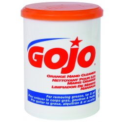 Gojo - 0968-06 - 28-oz. Go-jo Orange Handcleaner White Creme, Ea