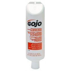 Gojo - 1018-06 - GOJO 22 Fluid-Ounce Tube Tan Floral Scented Professional Paint And Body Shop Hand Cleaner With Self-Dispensing
