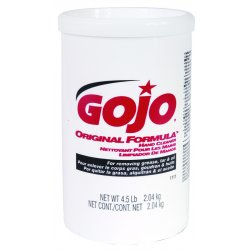 Gojo - 1111-06 - Unscented Hand Cleaner, 4.5 lb. Plastic Cartridge, 1EA