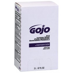 Gojo - 7280-04 - Sanitizing Liquid Soap Refill, 2000 mL Bag In Box, 4 PK