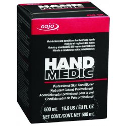Gojo - 8242-06 - GOJO 500 ml Refill White HAND MEDIC Fragrance-Free Scented Skin Conditioner