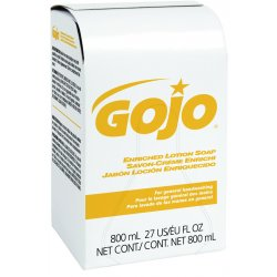 Gojo - 9102-12 - 800ml Gold Dermapro Enriched Lotion Soap, Ea