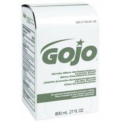 Gojo - 9212-12 - 800 Ml Amber Dermapro Ultra Mild Antimicrobi, Ea