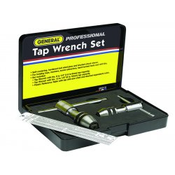 General Tools - 165 - Two-piece Ratchet Tap Wrench Set