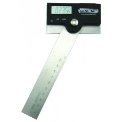 General Tools - 1702 - 6-Inch Stainless Steel Pivoting Arm Digital Protractor (MOQ=3)