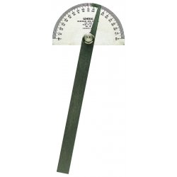 General Tools - 18 - Stainless Steel Protractor (MOQ=5)