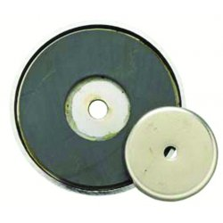 General Tools - 376A - Ceramic Shallow Pot Magnet with 12 lb. Pull