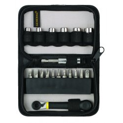 General Tools - 80078 - Chrome Vanadium Steel Precision Offset Screwdriver Set&#x3b; Number of Pieces: 19