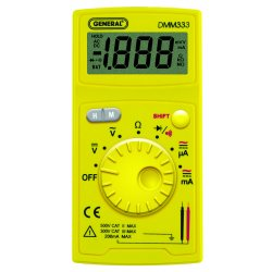 General Tools - DMM333 - Digital Pocket Multi-Meters (Each)