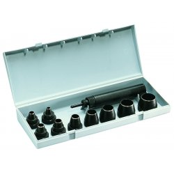 General Tools - S1274 - Tempered Alloy Steel Gasket Punch Set&#x3b; Number of Pieces: 10