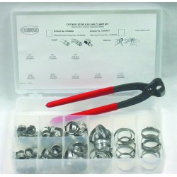 Oetiker - 18500060 - Stainless Steel Hose Clamp Assortment&#x3b; Number of Pieces: 81