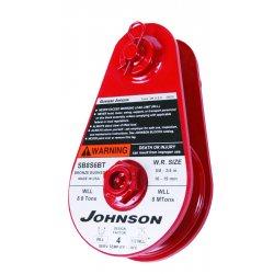 "Gunnebo Johnson - 474562016 - Sb4s4bt 4"" Sheave Snatchblock W/tailboard, Ea"