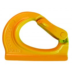 "Gunnebo Johnson - 589357 - Weld-On Steel Anchor Hooks 4400 Lb Working Load Limit 3-1/2""Hx4-1/2""L. Weighs 2.2 Lbs., EA"