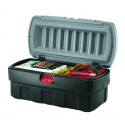 Rubbermaid - 1170-04-38 - 8 Gal. Action Packer Cargo Box Gray 20-1/, Ea
