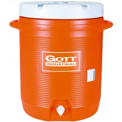 Rubbermaid - 1610-IS-ORAN - 10 Gallon Gott Cooler