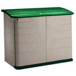 Rubbermaid - 374701OLVSS - Storage Shed 47x60x31.8 Horizontal Rubbermaid Plastic 100 Pound, Ea