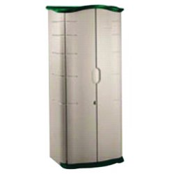 Rubbermaid - 374901OLVSS - Storage Shed 72x33x21.8 Vertical Rubbermaid Plastic 56 Pound, Ea