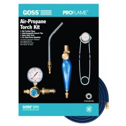Goss - KP-115 - Pro-flame Threaded Stylepropane Kit W/bp-15 Pm, Kit