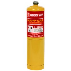 Goss - QLM-PRO - Disposable Map Gas Pro Cylinder 14.1oz