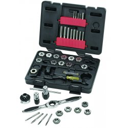 GearWrench - 3886 - Tap and Die Set, 40 pc, Carbon Steel