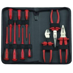GearWrench - 80062 - Insulated Pliers & Screwdrive Set 10 Pc