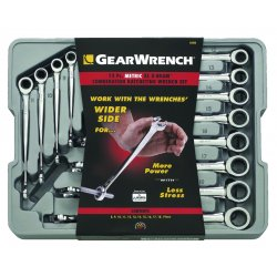 GearWrench - 85888 - 12pc Set Met X-beam 8 T019mm