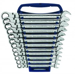 GearWrench - 9901 - 12pc Flex Comb Ratcheting Wr Set Metric