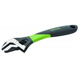 "Greenlee / Textron - 0154-12C - 12"" Adjustable Wrench W/ergo Handle, Ea"