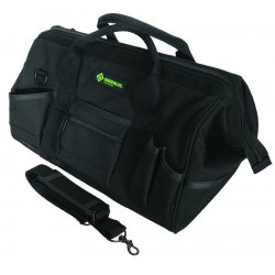 "Greenlee / Textron - 0158-12 - 18"" Heavy-duty Tool Bag, 8 x 11 x 10 inches."