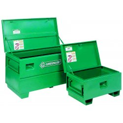 Greenlee / Textron - 2448 - Chest Storage Greenlee Gang Box 24 In Hx24 In Wx48 In L Steel Green, Ea