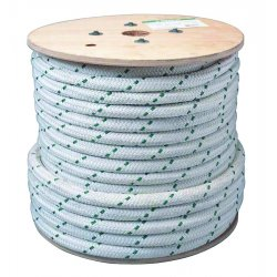 "Greenlee / Textron - 35098 - 3/4""x300' Double Braidednylon /poly Rope"