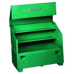 Greenlee / Textron - 3660 - Storage Chest Slant Top Greenlee Gang Box 48 In Hx30 In Wx60 In L Steel Green, Ea